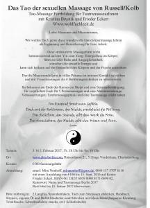 Tao Flyer Einladung Berlin 2017